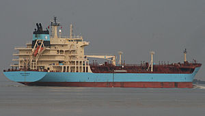 Brigit Maersk on the Thames.jpg