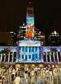 Brisbane City Hall light projection show 2018, 01.jpg