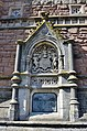 Bristol. Brandon Hill. Cabot Tower. Coat of arms and Plaque.jpg