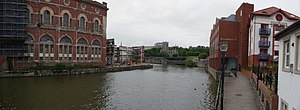 English: Bristol : Buildings & River Avon