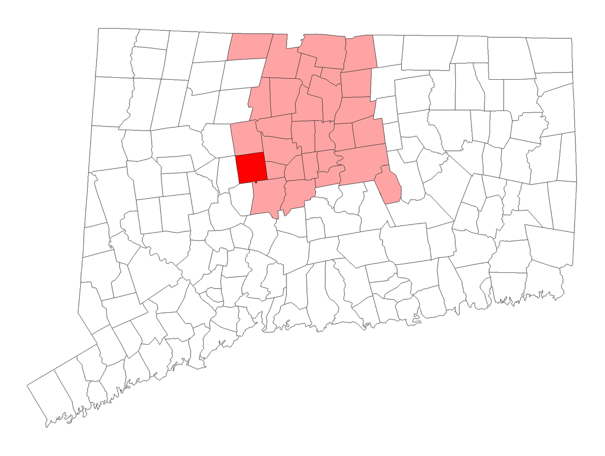 Conn Zip Code Map Bristol, Connecticut   Wikipedia