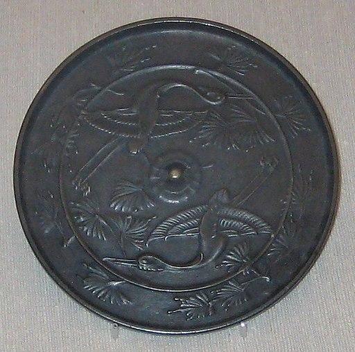 British Museum Japanese bronze mirror