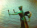 Bronze statue on bridge - panoramio.jpg
