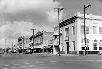 Brookhaven, Mississippi - South Railroad Avenue, 1952