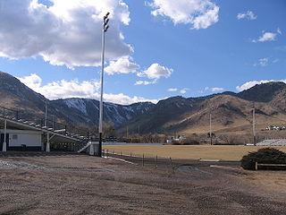 Campbell Field (Colorado) Stadium in Colorado, U.S.A.