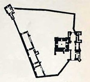Brougham Castle - Plan of Brougham Castle