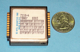 Bubble memory - Intel 7110 magnetic-bubble memory module