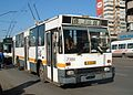 Bucharest DAC 112E trolleybus 7380, ex-articulated, on route 65 in 2007.jpg