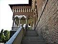 Bucuresti, Romania. PALATUL BRANCOVENESC de la MOGOSOAIA. (Palatul-vedere laterala cu scara)(IF-II-a-A-15298).jpg