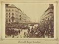 Budapest, Erzsébet körút, Kossuth Lajos temetési menete a Dohány utcánál. - Fortepan 82042.jpg