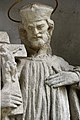 Budapest-Pesthidegkút, templomkerti Nepomuki Szent János-szobor 2021 12.jpg