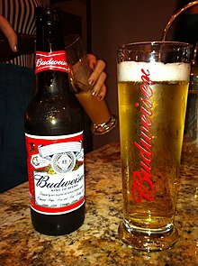 Budweiser Light Glass