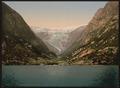 Buerbrae (i.e., Buarbreen) Glacier, Odde (i.e. Odda), Hardanger Fjord, Norway-LCCN2001699487.tif