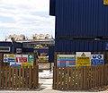 Building site entrance - geograph.org.uk - 204750.jpg