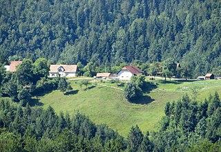 Bukovec, Velike Lašče Place in Lower Carniola, Slovenia