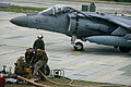 Bulk fuel Marines refuel Harriers on Ie Shima 120228-M-HG547-083.jpg