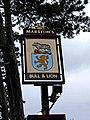 Bull and Lion pub sign, 48 High Street - geograph.org.uk - 1316001.jpg