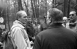 Karl Carstens - The hiking president, 1979