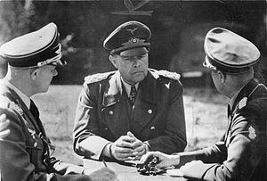 Volturno Line - German supreme commander in Italy—''Generalfeldmarshall'' Albert Kesselring (1940).