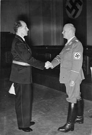 Otto Georg Thierack - Otto Thierack (right) with Judge Roland Freisler at the end of August 1942