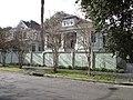 Burdette CarrolltonNOLA Houses Fence.JPG