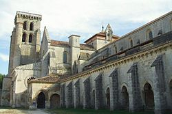 Facade of the monastery