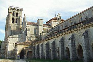 Abbey of Santa María la Real de Las Huelgas - Facade of the monastery