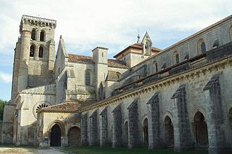 Abbey of Santa María la Real de Las Huelgas - Facade of the monastery