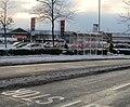 Bus stop, Harlech Retail Park, Newport - geograph.org.uk - 2205900.jpg