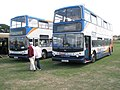 Buses at the 2009 Gosport Rally - geograph.org.uk - 1425286.jpg