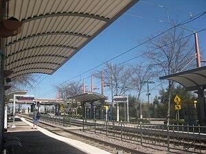 CityLine/Bush station - Image: Bush Turnpike Station 2 24 10