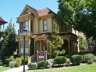 Heritage Park (San Diego) - Bushyhead House