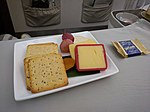 Business class cheese plate on Fiji Airways 910.jpg