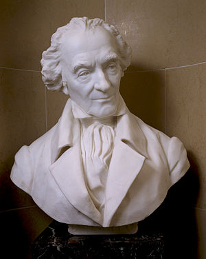 Caleb Strong - Bust of Elbridge Gerry, Strong's frequent gubernatorial opponent (Herbert Adams, 1892)