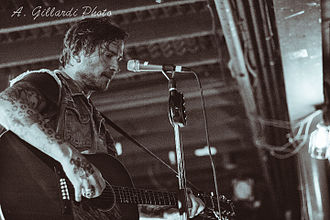 Butch Walker - Walker performing live in 2014.