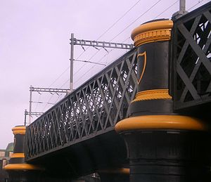 Loopline Bridge - Detail of the Liffey Viaduct