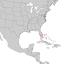 Byrsonima lucida range map 1.png
