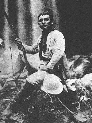 Cândido Rondon - Cândido Rondon at the age of 24 pioneering the amazonic region