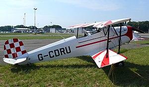 Bücker Bü 131 - A still flying Spanish built CASA 1.131.