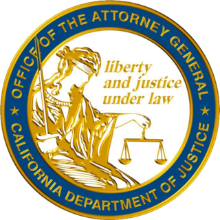California Department of Justice Statewide investigative law enforcement agency