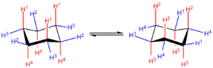 Cyclohexane conformation