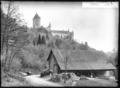 CH-NB - Lucens, château, vue partielle extérieure - Collection Max van Berchem - EAD-7345.tif