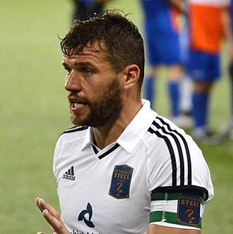 James Chambers (Irish footballer) - Chambers playing for Bethlehem Steel FC in 2017