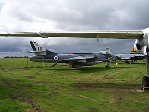 City of Norwich Aviation Museum - Hawker Hunter F51 (ex. Royal Danish Air Force E-409, painted to represent an aircraft of 74 Tiger Squadron Royal Air Force)