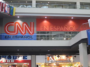 CNN en Español - CNN En Español newsroom/studio in Atlanta, GA.