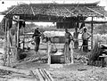 COLLECTIE TROPENMUSEUM Ingang van een schacht van de mijn Pinang Singkep Tin Maatschappij Riouw TMnr 10007362.jpg