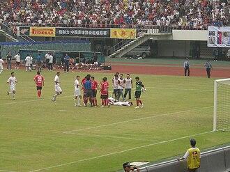 Henan Jianye F.C. - Shenzhen Ruby v Henan Construction in 2009