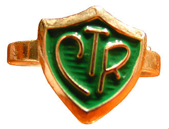 Choose the right - A CTR ring, showing the escutcheon design