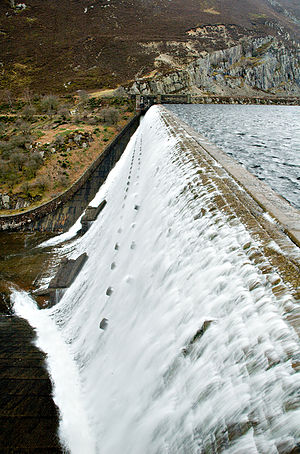 Elan Valley - Caban Coch Dam