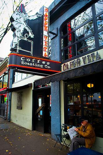 Caffé Vita Coffee Roasting Company - Caffè Vita on Capitol Hill, Seattle